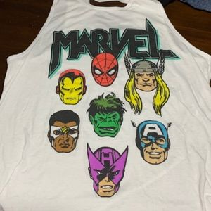 Marvel Super Heros Ripped Tank Size XL